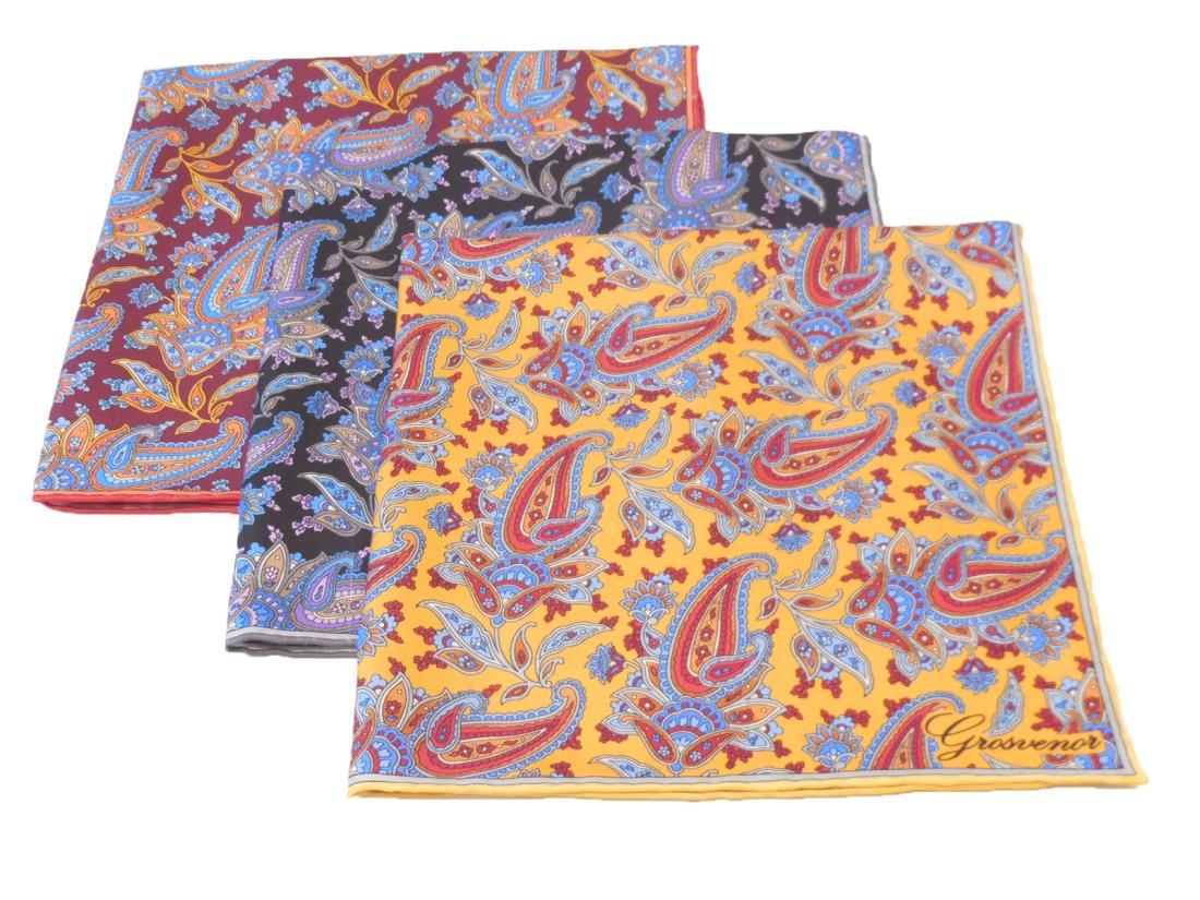 New AW14 silk pocket square